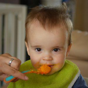 alimentação bebé